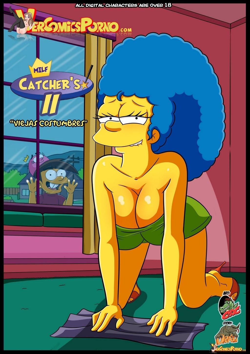 Los Simpsons y Padrinos Magicos Milfs follando con hijos