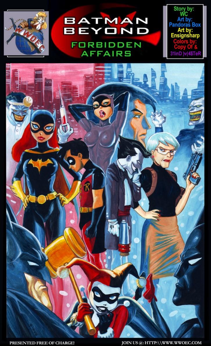 Batman y sus amantes folllando