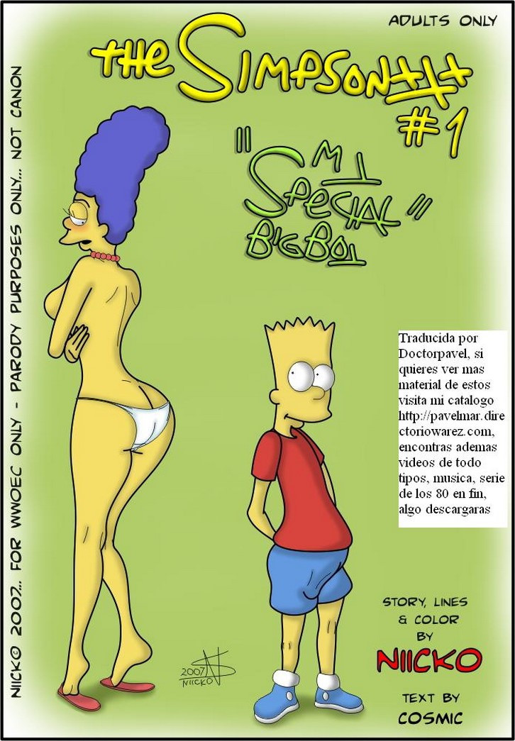 Los simpsons mi special big boy – Bart y Marge incesto