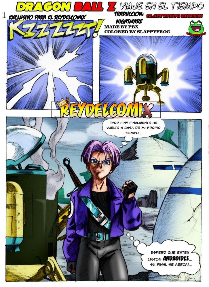 Dragon Ball Z El Kamasutra de Trunks 2