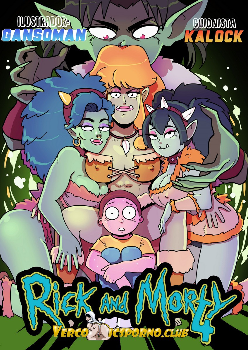Rick & Morty 4  Sexo con ardientes monstruas Milfs