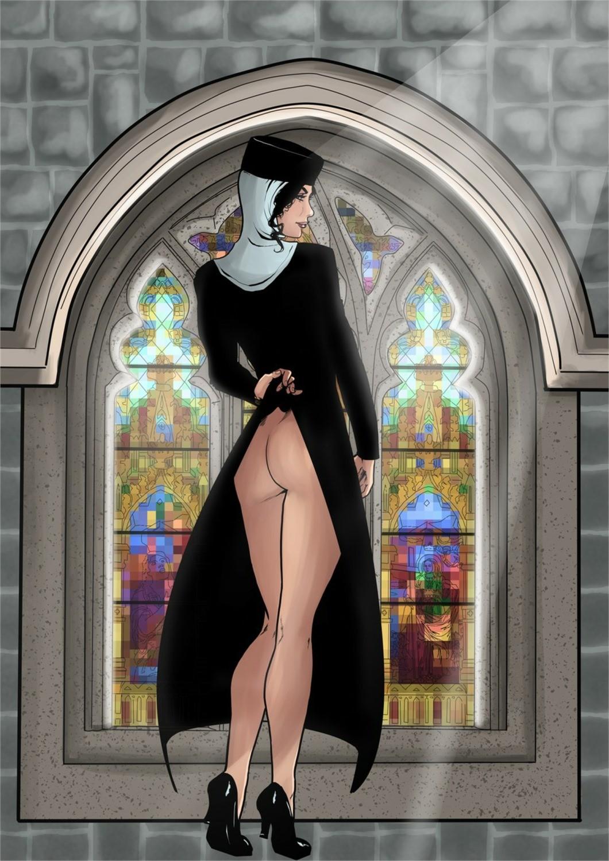 Vow Silence #1 Una monja muy cachonda