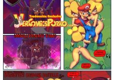 Mario Bros xxx orgia con las Bowsettes