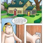 Padre de Familia Cris y Meg follando en casa