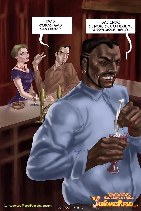 Interracial Sexo Infiel en el Hotel