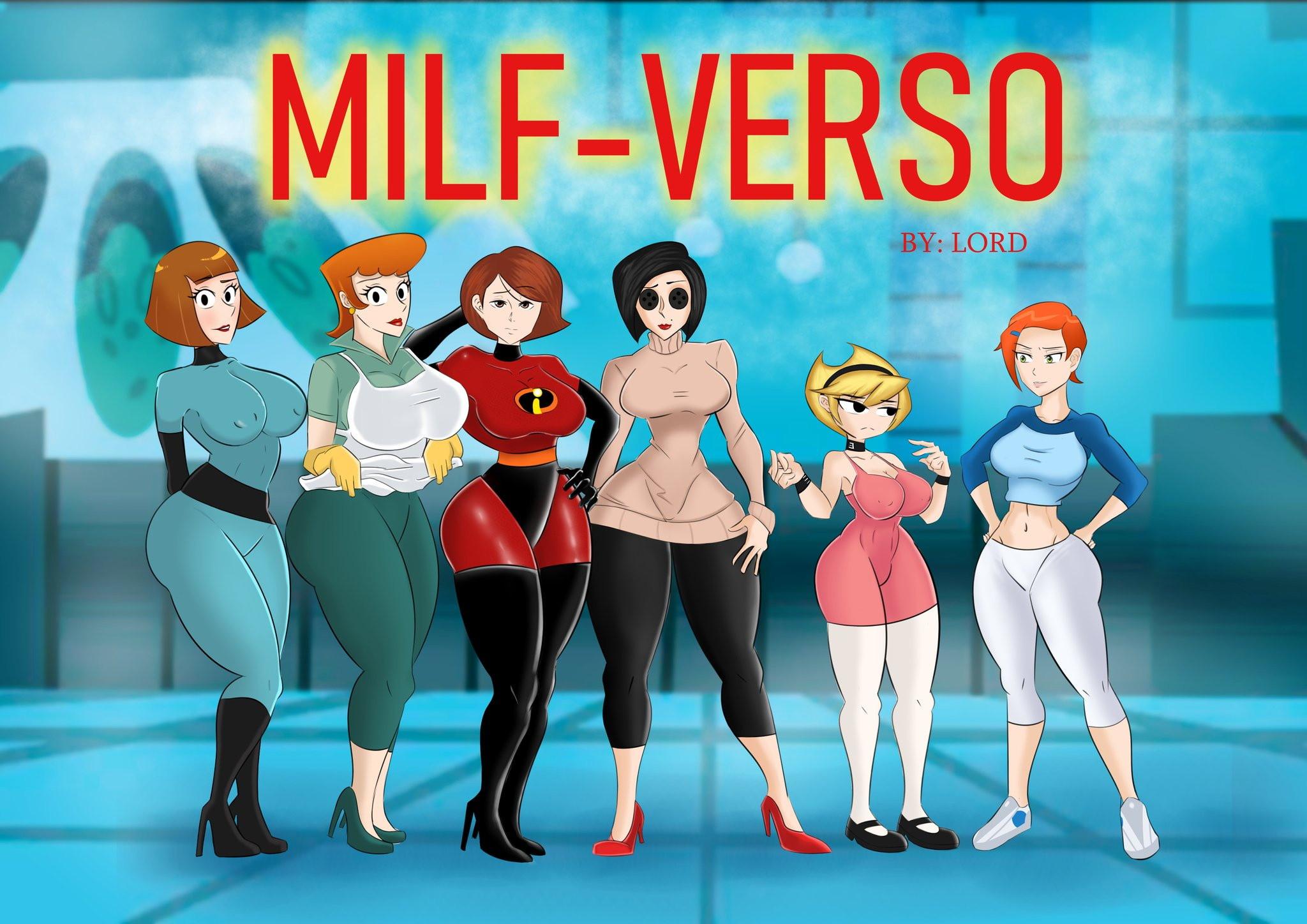 Milf-Verso Las Madres más Sexys de los Comics