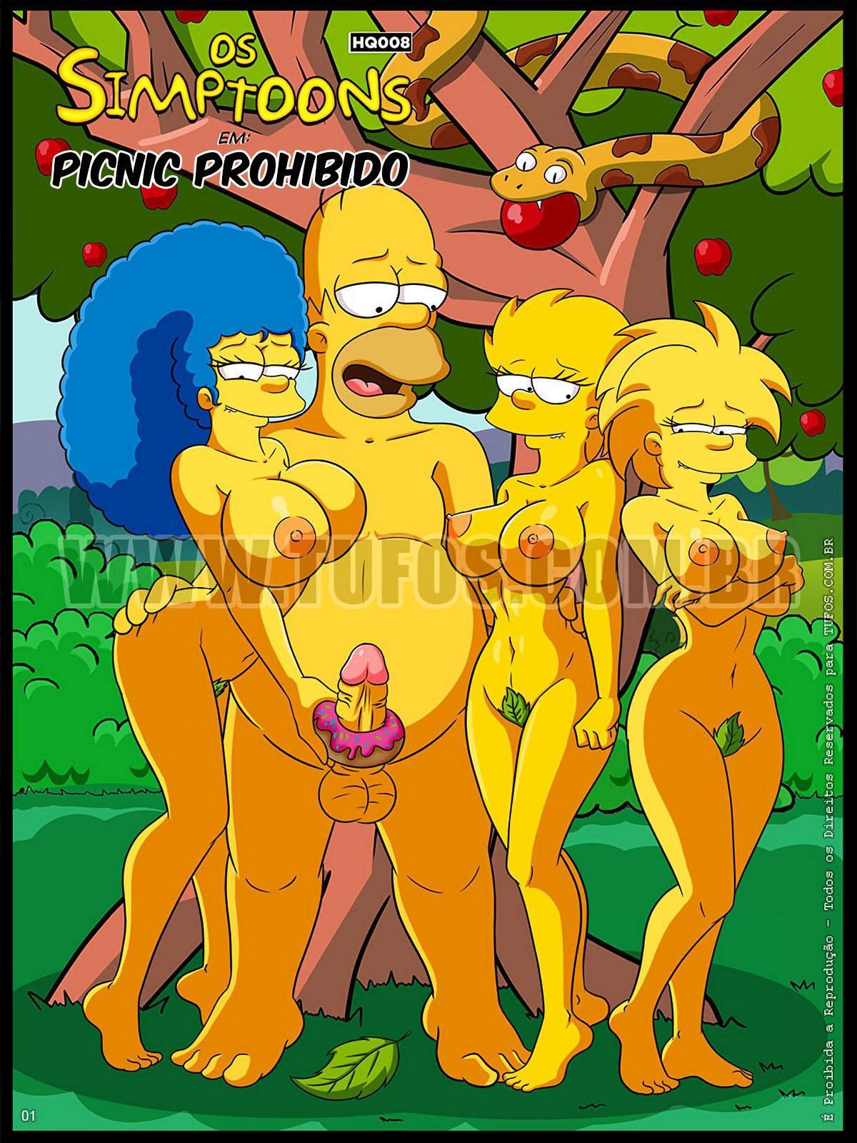 The Simpson en_ Picnic PROHIBIDO