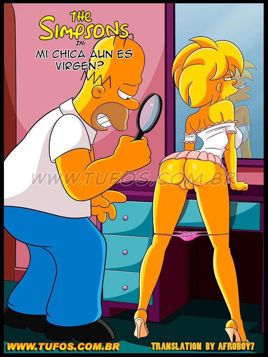 Maggie aun es VIRGEN The Simpsons