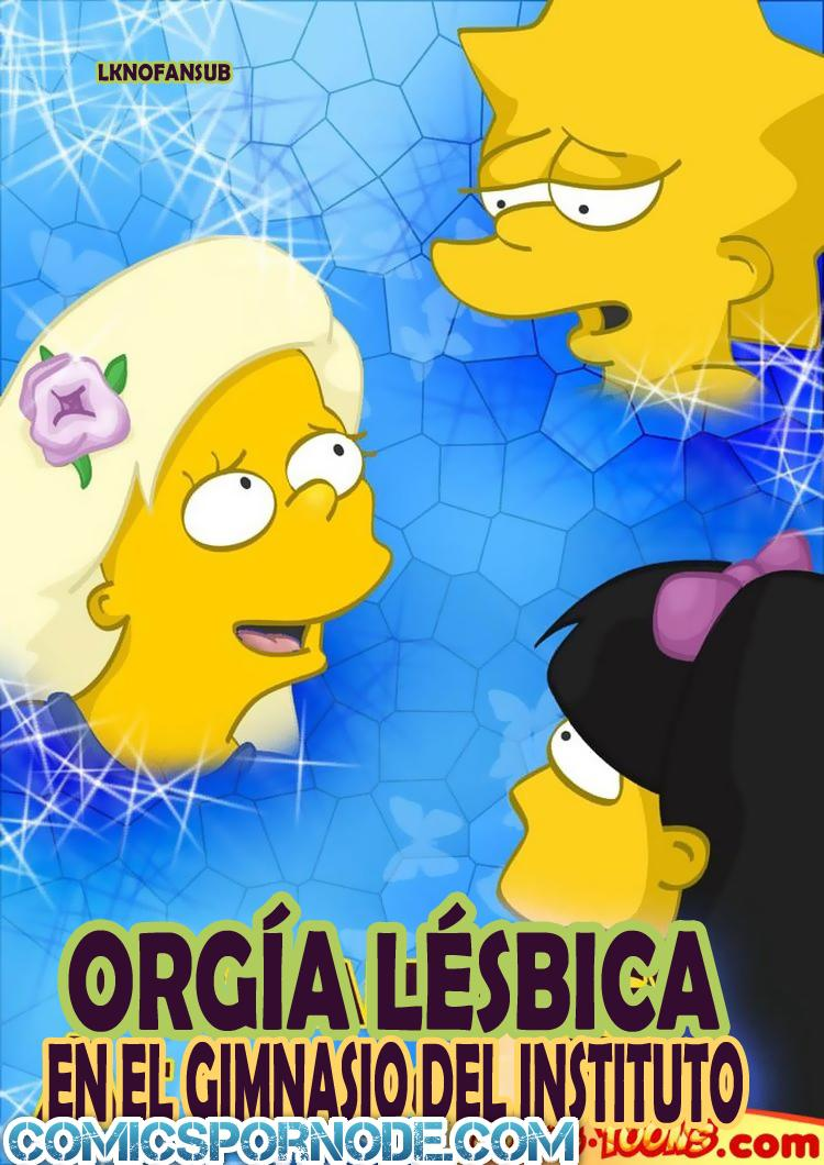 Lisa Orgia con sus amigas – Simpsons xXx
