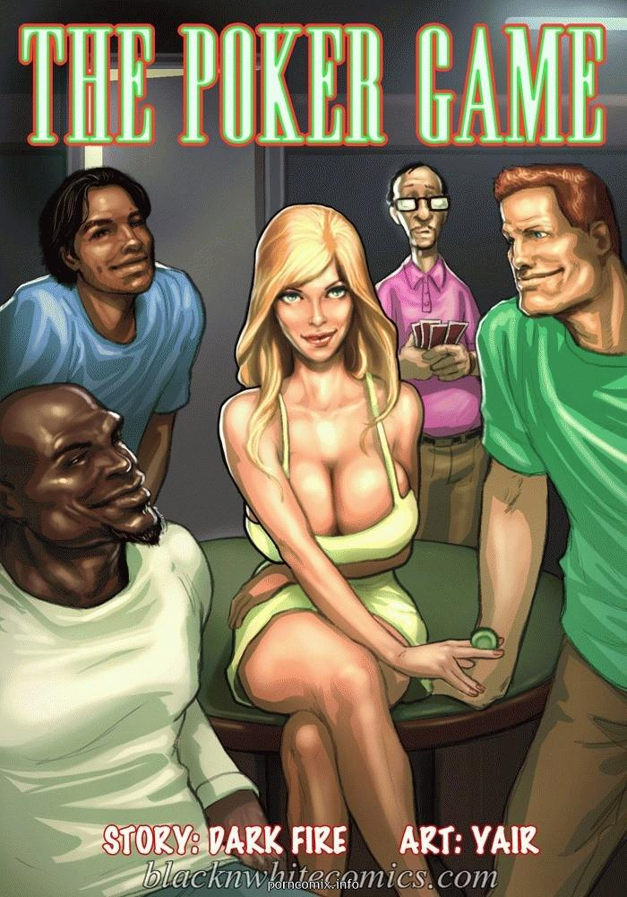 The Poker Game 1  Interracial