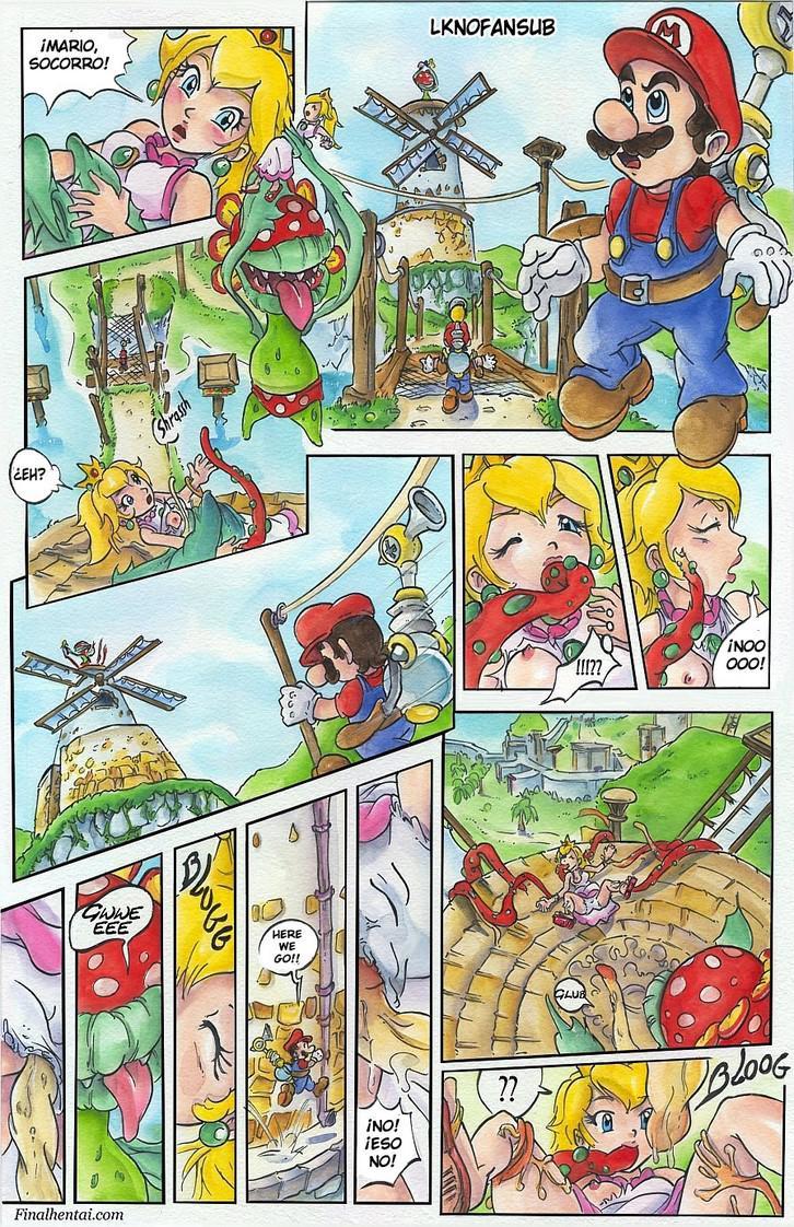 Super Mario Sunshine rescate de la Princesa