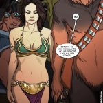 Morbosa escena lésbica de Rey en Star Wars