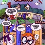 Dexter descubre a su mama follando con su rival