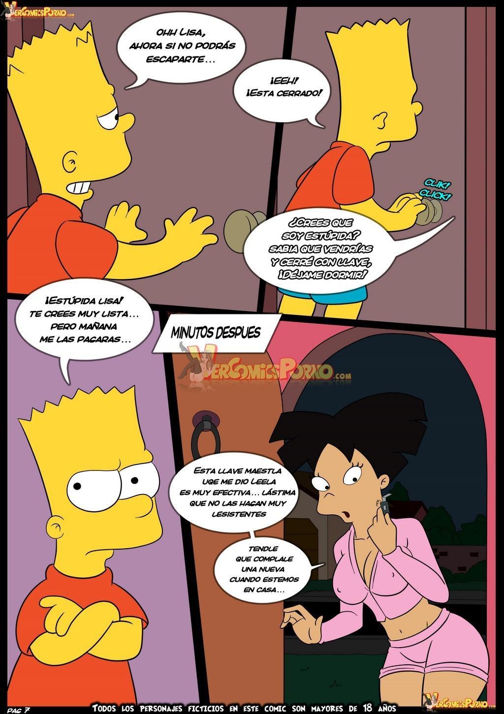 Bart y Amy Wong de Futurama follando!