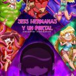 6 Hermanas y El portal the loud house hentai