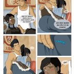 Avatar Korra se folla a su antiguo novio Mako