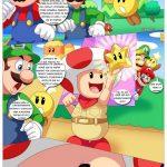 Daisy Y La Princesa Follan Mientras Mario No Esta