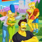 La aventura de Darren Parte 1 The simpsons