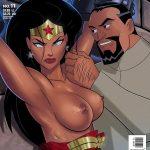 Vandalized Cómic XXX de Wonder Woman