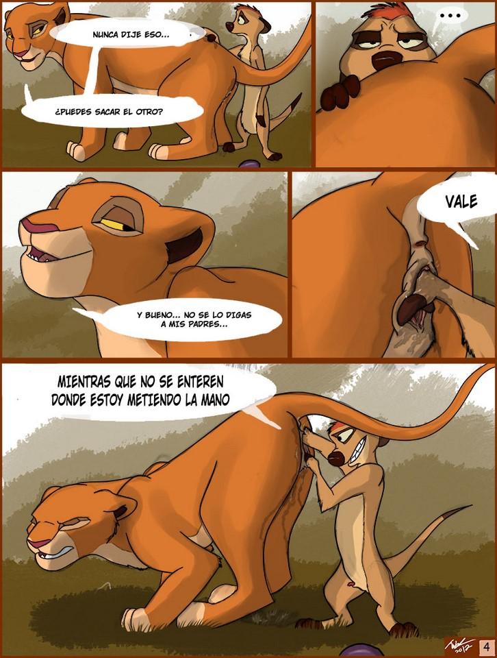 El rey león XXX