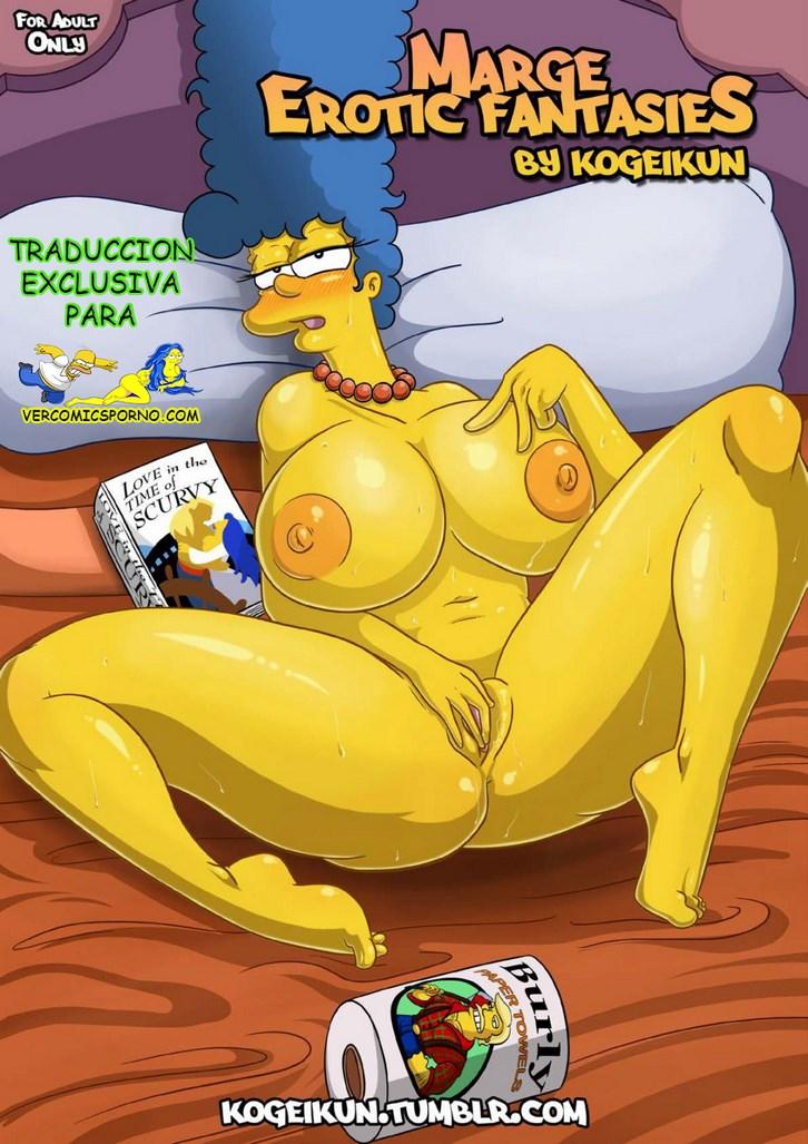 Comic porno de Marge Simpson desnuda