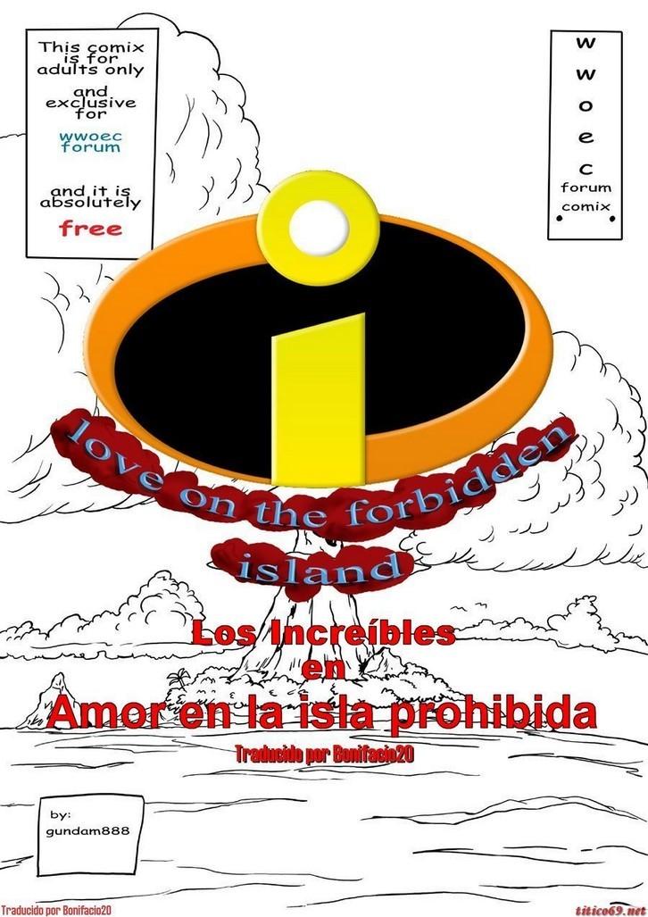 Love on the forbidden island los increibles