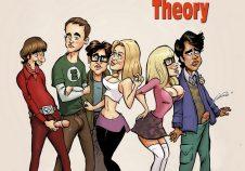 Dirty Comics- Big Gangbang Theory