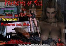 Comics 3D - Parásitos del mal