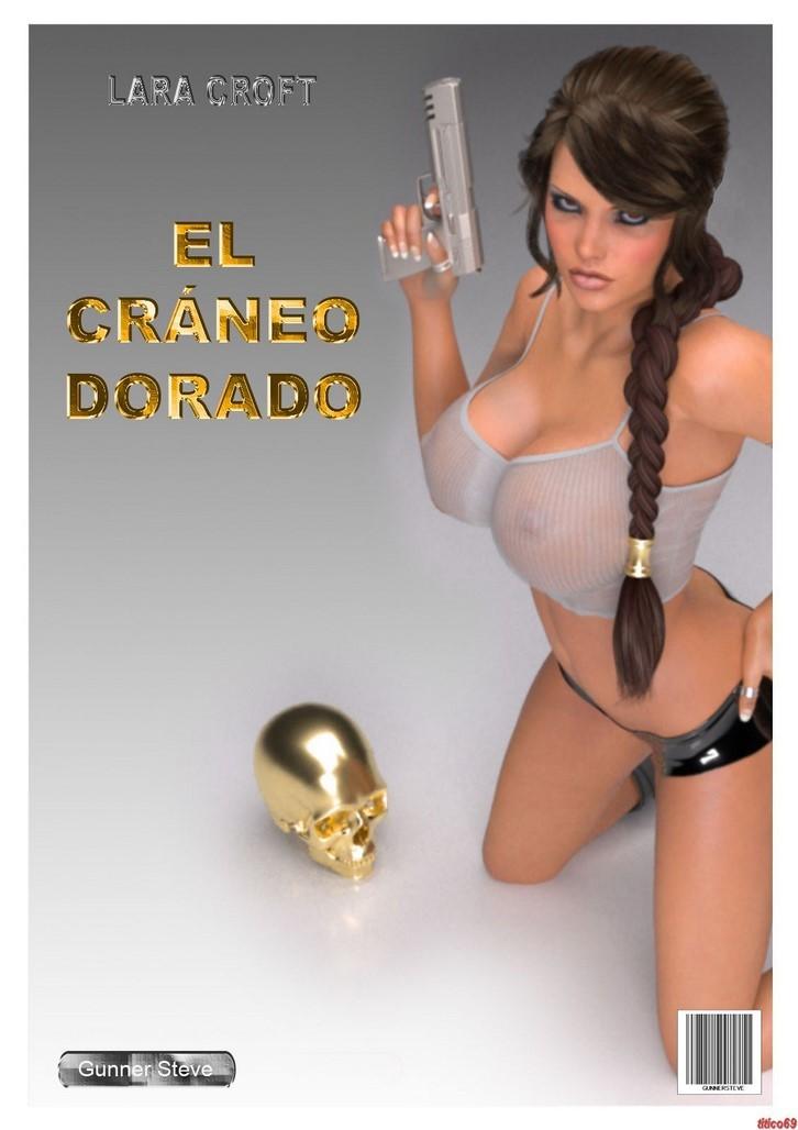 Lara croft el craneo dorado